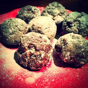Intense Dark Chocolate Rum Balls