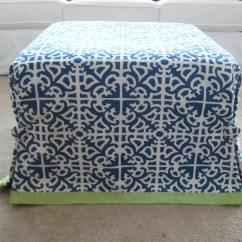 Diy Chair Slipcover No Sew Fold Up Wheelchair Ottoman Slip Cover Mingz Blog