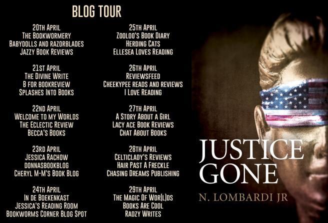 Justice Gone Blog Tour