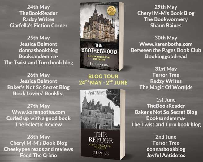 Brotherhood Blog Tour Scheduled