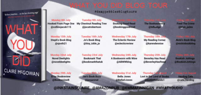 What You Did Blog Sched