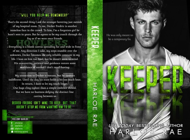 Keeper Book jacket