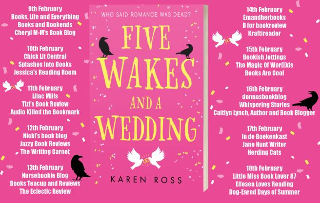 Five Wakes and a Wedding Full Tour Banner