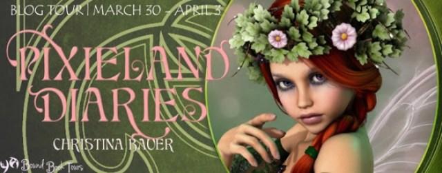 Pixieland Diaries tour banner