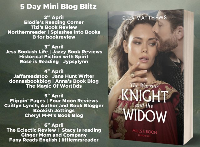 The Warrior Knight and the Widow Full Tour Banner