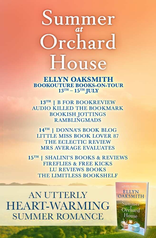 Summer at Orchard House - Blog Tour