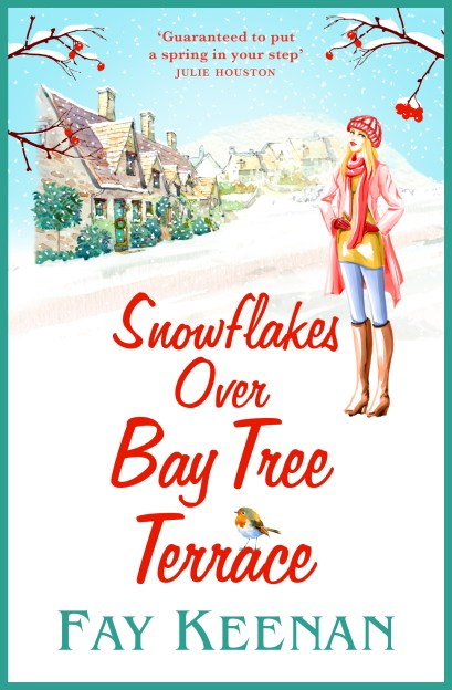 Snowflakes Over Bay Tree Terrace HI RES