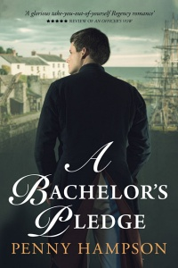 A Bachelor's Pledge (Gentlemen Book 3) by Penny Hampson