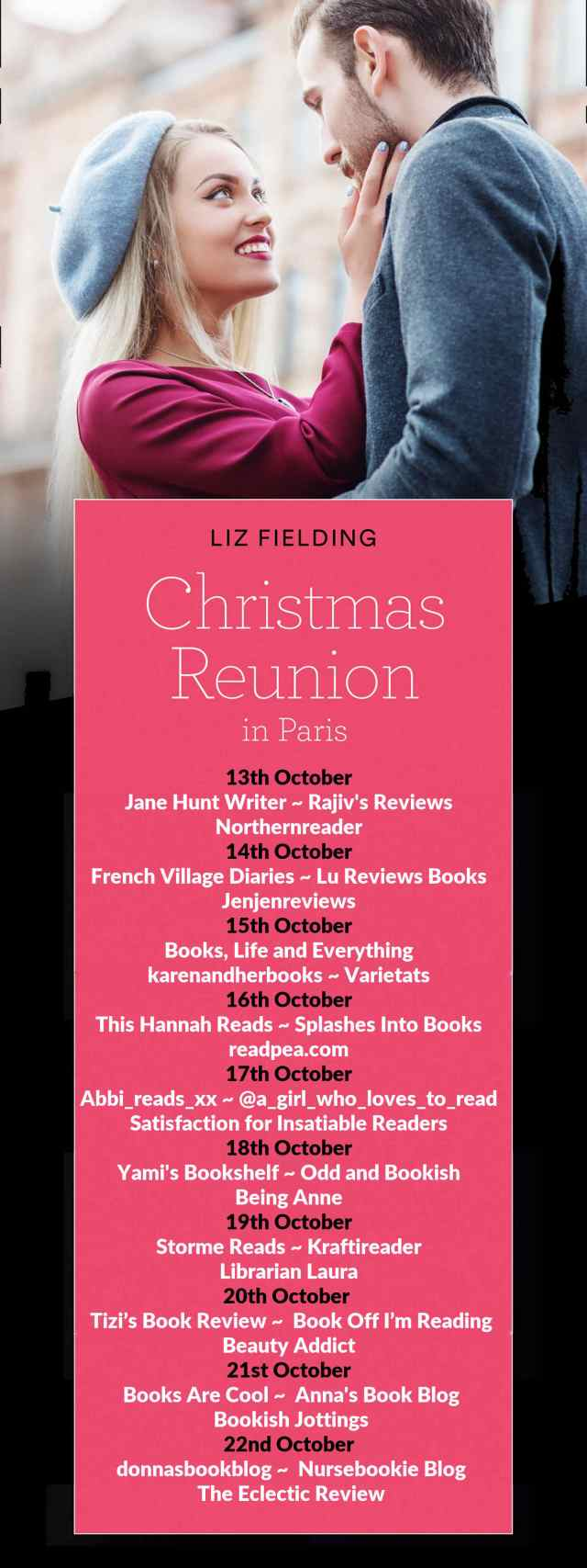 Christmas Reunion in Paris Full Tour Banner