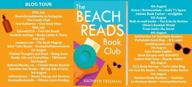 The Beach Reads Book Club Full Tour Banner