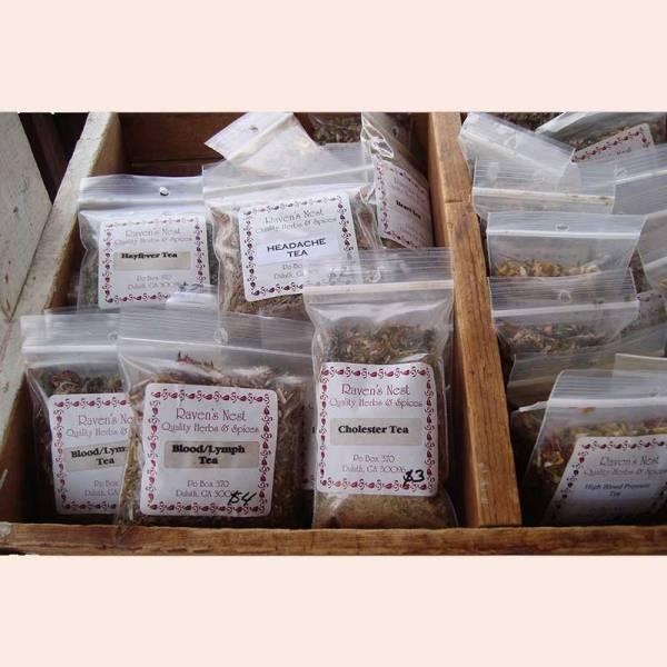 Organic Teas by Ravensnest Herbals