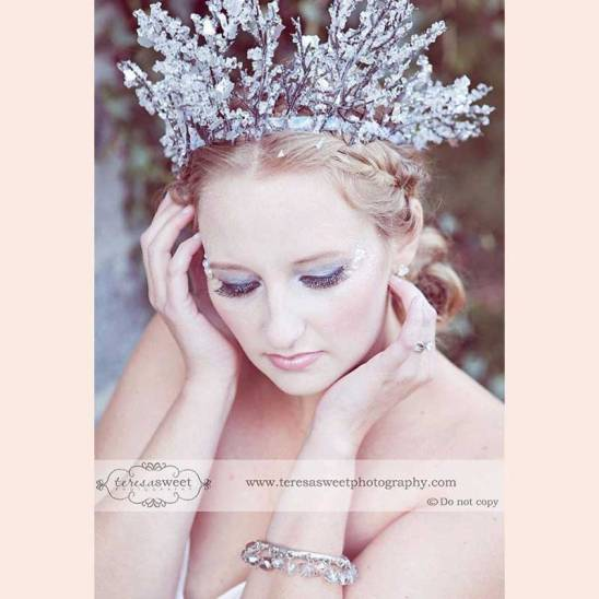 Winter Crown by FaerySpell Creations