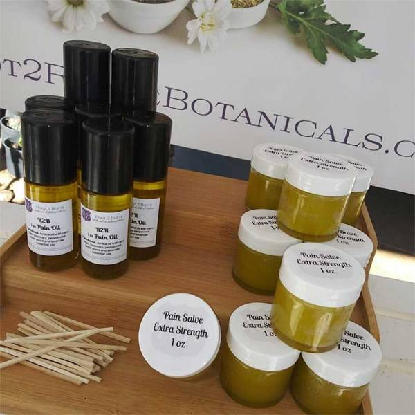 Salves, oils, and balms by Route2Route Botanicals