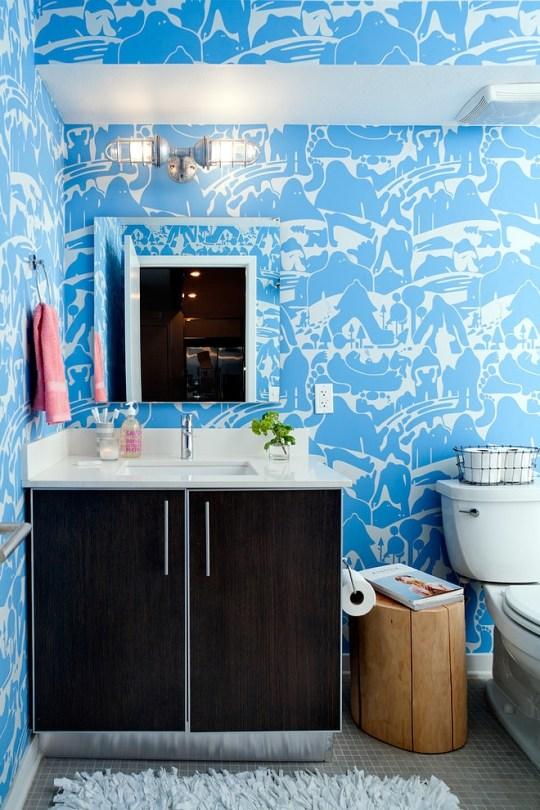 daleet spector design bathroom | Eclectic Trends
