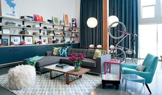 daleet spector design living | Eclectic Trends