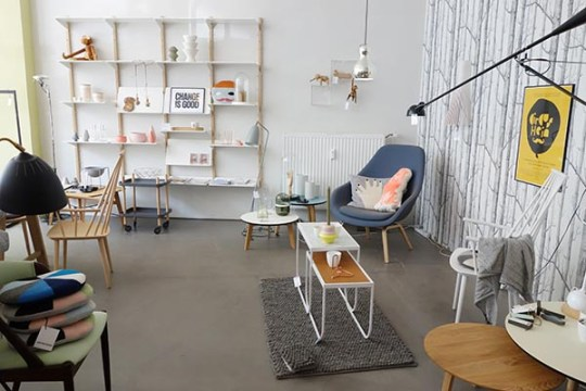 Lys Vintage eclectic trends scandi chic at lys vintage in hamburg germany
