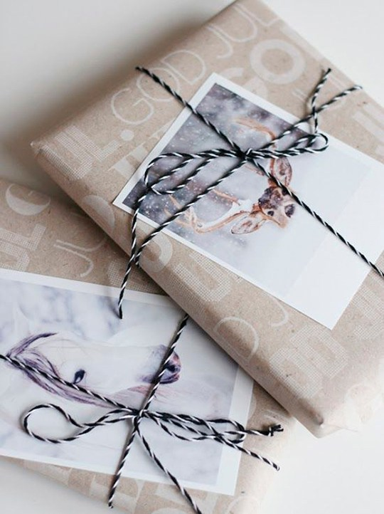 gift wrapping trends Christmas