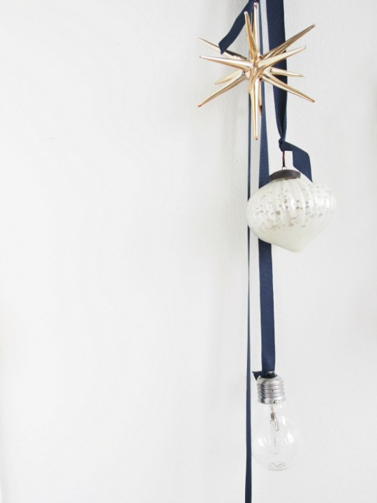 DIY Hanging Light Bulb Decorations