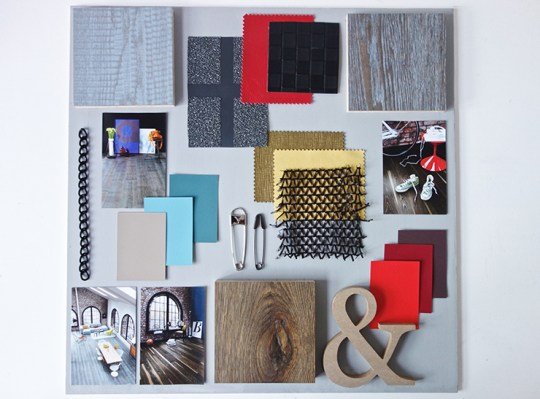 Commissioned moodboards-Urban Contrast Style -Eclectic Trends