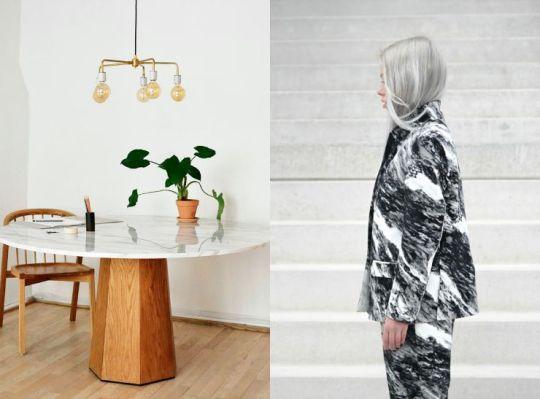 Interior Design-Marble Trend-Eclectic Trends