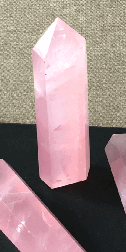 Rose quartz is the stone of unconditional love, and draws that love to whoever holds or wears it. It's perfect for working with your heart chakra.