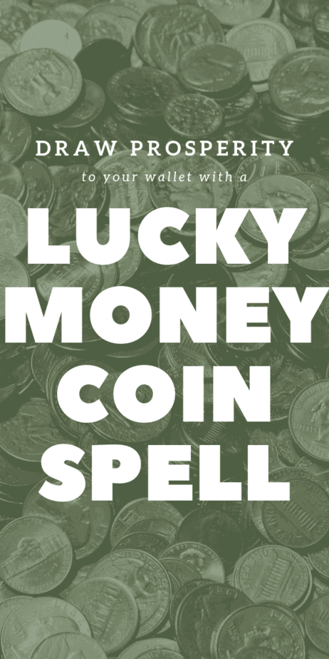Draw prosperity to your wallet with a lucky money spell. This is the easiest witchcraft spell for beginners that want to use the law of attraction. Witchcraft is all about using your power to change your life and the world. Money spell. Candle spell. #witchcraft #witch #magic #pagan #magick #wicca #money #debt #wallet #moneyspell