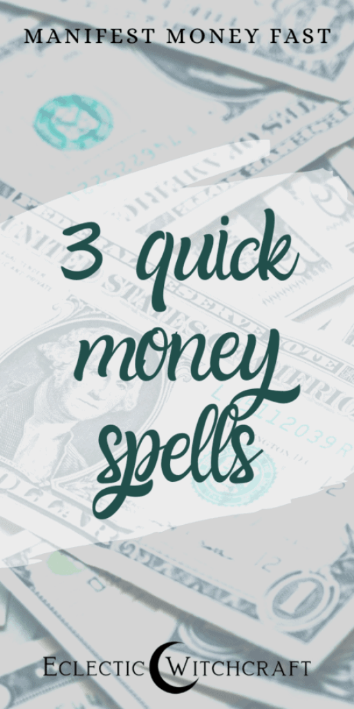 Attract infinite abundance with these 3 easy money spells. Cinnamon money tea spell, new business entrepreneur spell, and save money spell. Find financial freedom with these easy witch spells that work! You can increase your abundance, manifest money, raise your vibrational frequency and more. These spells work with the Law of Attraction. Money spell candles. Money drawing spell kit. Divine money spells. Green candles. Instant money spell. #witchcraft #witch #moneyspell #financialfreedom #pagan