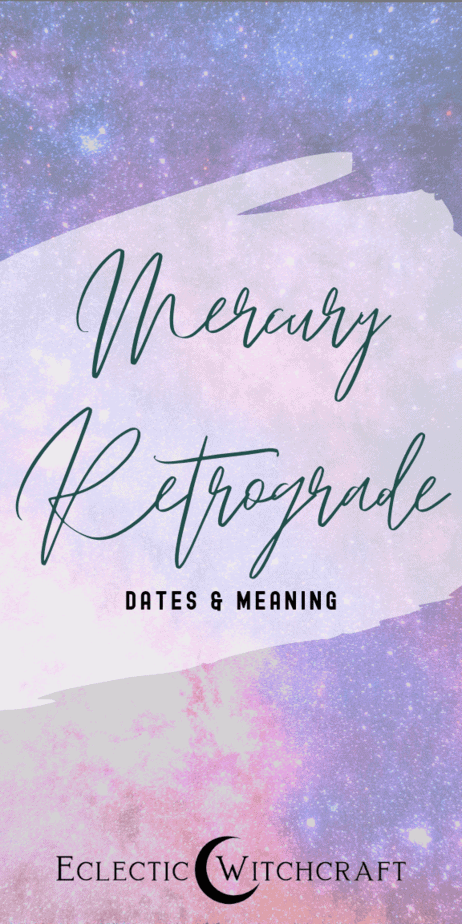 What are Mercury retrograde dates? What is the Mercury retrograde meaning? Learn all about the astrology of Mercury retrograde. Will you have bad luck? How will it affect travel? The definition of Mercury retrograde. Mercury retrograde effects. When does Mercury retrograde start? When does Mercury retrograde end? Is Mercury retrograde fake? Mercury retrograde facts. Mercury retrograde horoscope. Mercury retrograde length and lessons. #mercuryretrograde #astrology #witchcraft #witch #pagan
