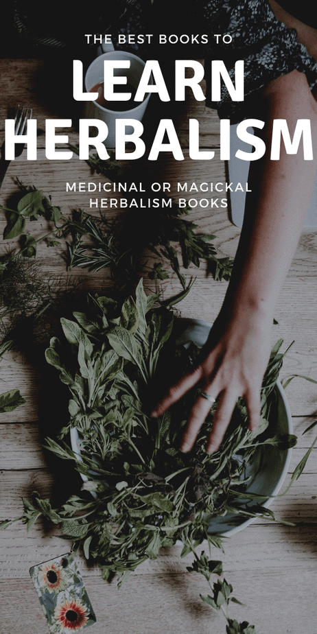 Learn herbalism and become a wise woman by reading these treasured books. Herbal magick and medicine are both at the tip of your fingers. #herbalism #herbalist #books #reading #book #toread #witchcraft #witch #pagan #wicca #occult #wiccan #paganism