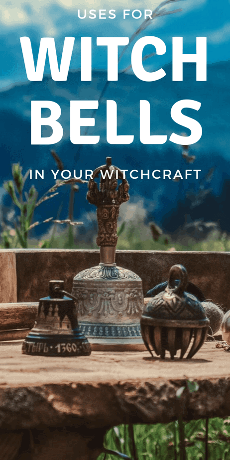 Do you know how and why witches use bells in their rituals and spells? #witchcraft #witch #pagan #wicca #paganism #wiccan #druid #protection #bells #spells #magick #magic #bookofshadows #tips #tools