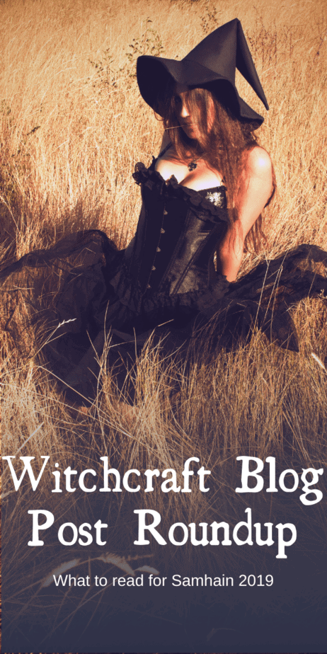 The witchcraft blog post roundup for Samhain 2019. What pagans should read this year on Samhain to catch up on the news. Halloween 2019 is upon us! #samhain #witch #witchcraft #pagan #wicca #occult #halloween #blog #blogposts