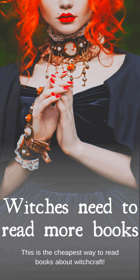 Witches need to read more books and this is the cheapest way to read books about witchcraft. This amazing website gives you access to so many books for only $9 a month. Amazing! Unlimited audiobooks, too! You need to check this out. This is definitely the cheapest way to read more books. #witchcraft #books #reading #scribd #witch #pagan #paganism #wicca #wiccan #occult #druid #heathen #demons