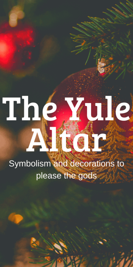 Yule Altar Symbolism And Decorations. How do witches decorate their altars for Christmas? Yule traditions. Winter solstice decorations. How to celebrate Yule. Pagan Yule art. Yule ritual. Yule celebration. Yule crafts. Yule aesthetic. Yule tree. Yule correspondences. Yule meaning. Yule blessings and gifts. Happy Yule! Yule wreath. Yule spells. Yule ornaments. Norse Yule goat. Wiccan Yule ball. What is Yule? #yule #pagan #christmas #wicca #witch #witchcraft #paganism #occult #goddess #altar