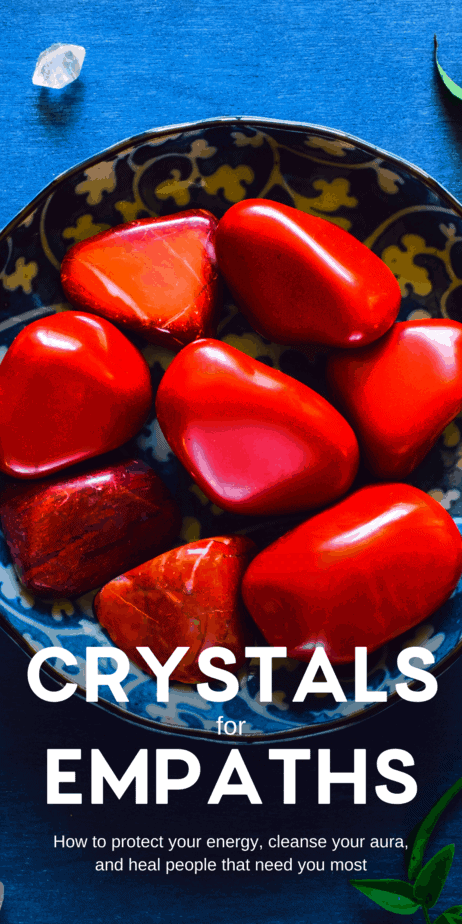 Decorative Image | The Best Crystals For Empaths | Some people covet the sensitive powers of an empath. They imagine how nice it would be to be such a powerful healer or intuitive person. It's easy to imagine that the world might appreciate an empath more than a normal person.