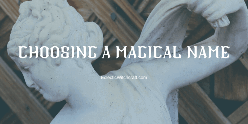 Magical Names For Witches And Pagans