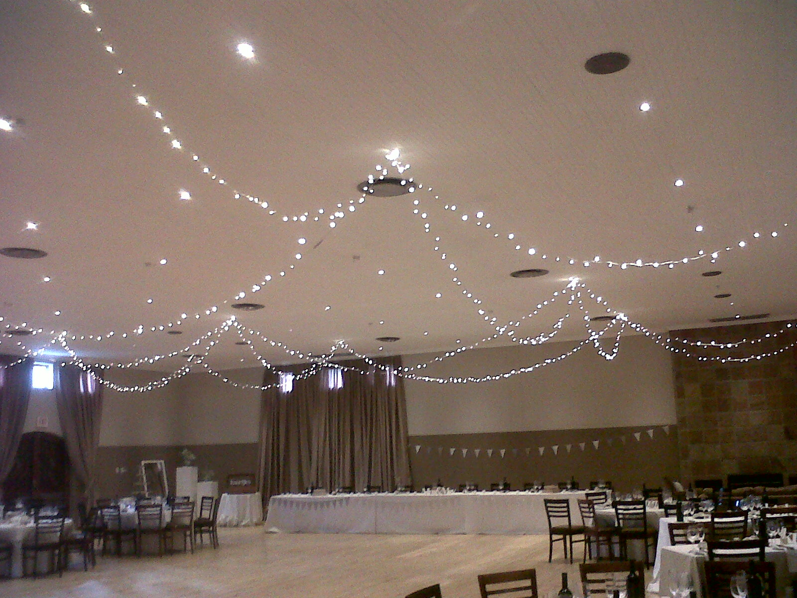 Tips for Hanging Fairy Lights  Wedding  Event Lighting