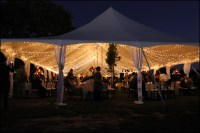 Ideas for Tent Lighting | Wedding & Event Lighting and Decor