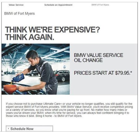 his is an example from BMW of how you could use DocOrigin to have your everyday documents work for you