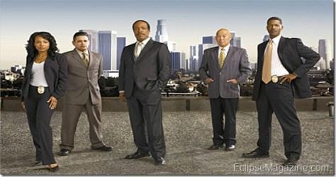 The Closer - Season 3 - Gina Ravera, Raymond Cruz, Robert Gossett, Michael Paul Chan, Corey Reynolds - Andrew Eccles/TNT