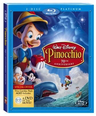 BLU-RAY NEWS: Pinocchio Goes Blu March 10th.