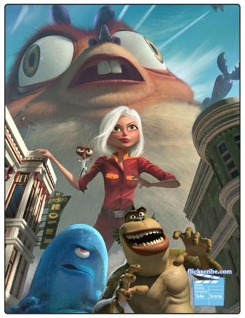Movie Review: Monsters Vs. Aliens