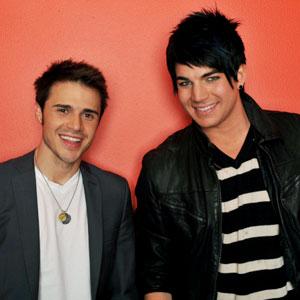 American Idol Top 2 Kris Allen and Adam Lambert