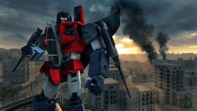 Transformers Revenge of the Fallen Video Game