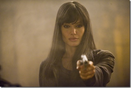 "Angelina Jolie as ""Evelyn Salt"" in Columbia Pictures' SALT"