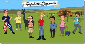 NAPOLEON DYNAMITE  Join The Dynamite Family on FOX Sundays during ANIMATION DOMINATION when it premieres Sunday, Jan. 15 (8:30-9:00 PM ET/PT) on FOX.  NAPOLEON DYNAMITE ™ and © 2011 TCFFC ALL RIGHTS RESERVED.