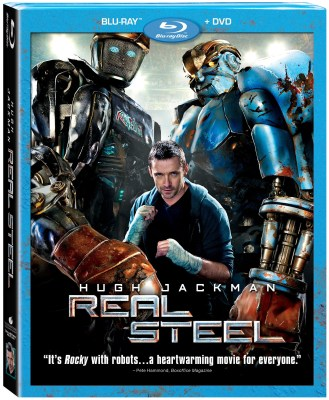 Real Steel BD DVD Combo