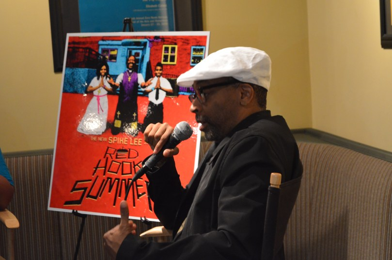 Spike Lee talks about Red Hook Summer