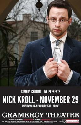 Nick Kroll Concert