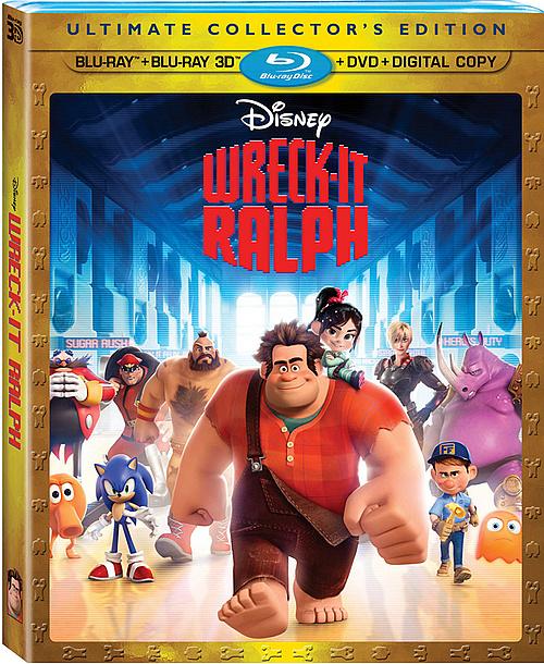 Wreck It Ralph Blu-ray 3D Review