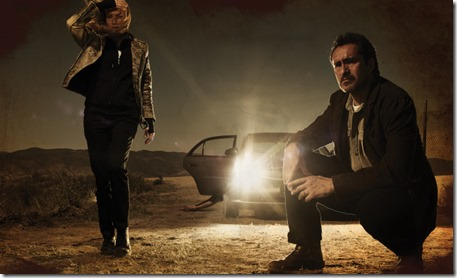 THE BRIDGE (Series Premiere, Wednesday, July 10, 10:00 pm e/p) -- Pictured: (L-R): Diane Kruger as Sonya Cross, Demian Bichir as Marco Ruiz -- CR: Frank Ockenfels/FX